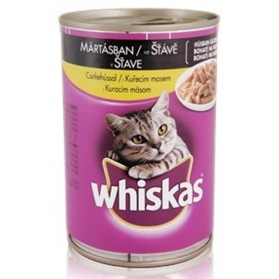 Whiskas chicken cat food 400 g
