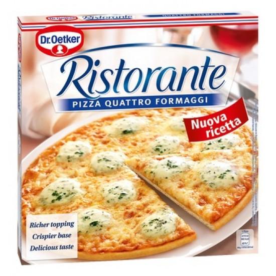 Dr, Oetker Ristorante four pizza cheeses 335 g (mirelit)