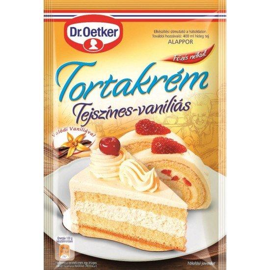 Dr, Oetker Torte Cream Creamy Vanilla 130g