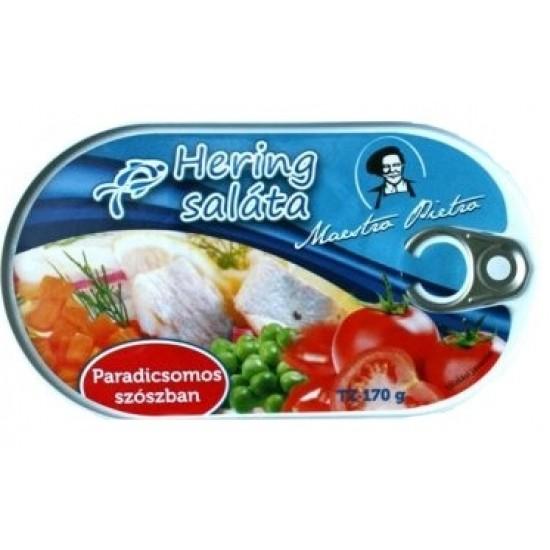 Maestro Pietro hering saláta paradicsomos szószban 170 g