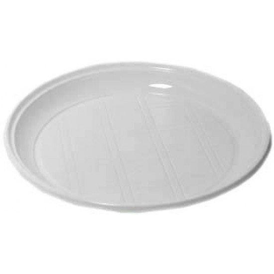 Disposable plate party plastic 25 pcs