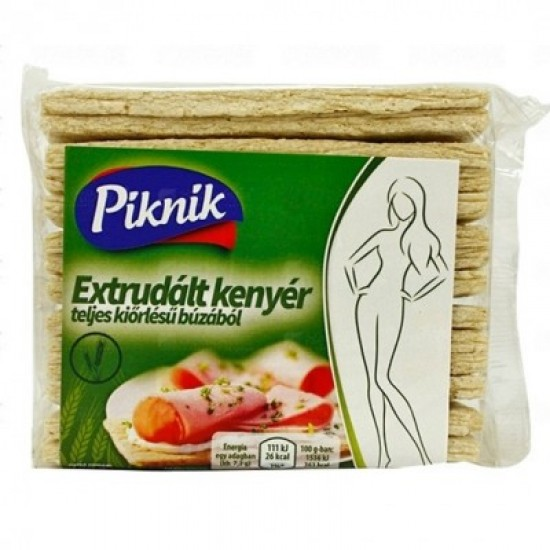 Picnic extruded bread with wholegrain wheat 80 g