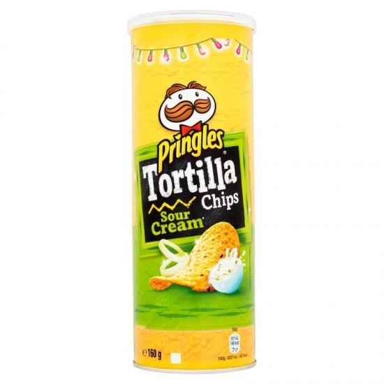 Pringles hagymás - tejfölös tortilla 160 g