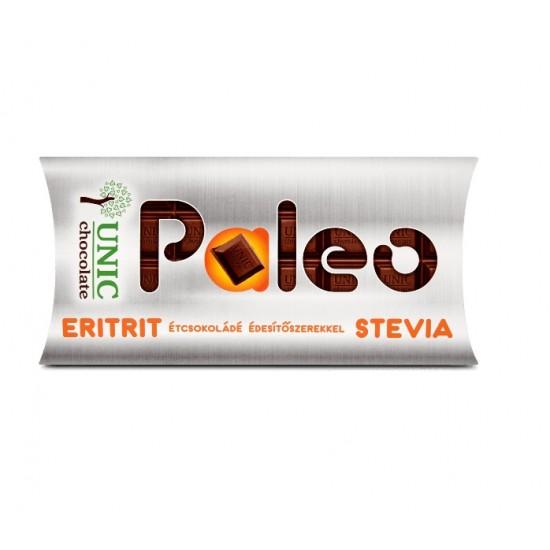 Unic Paleo étcsokoládé édesítőszerekkel 80 g