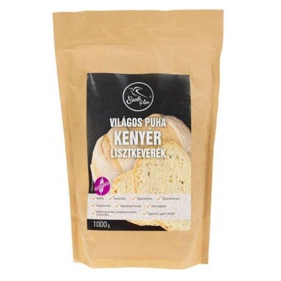 Szafi gluténmentes világos puha kenyér lisztkeverék 1 kg
