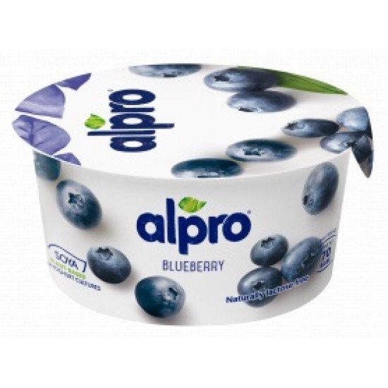 Alpro szójagurt joghurt kultúrával kékáfonya ízben 150 g