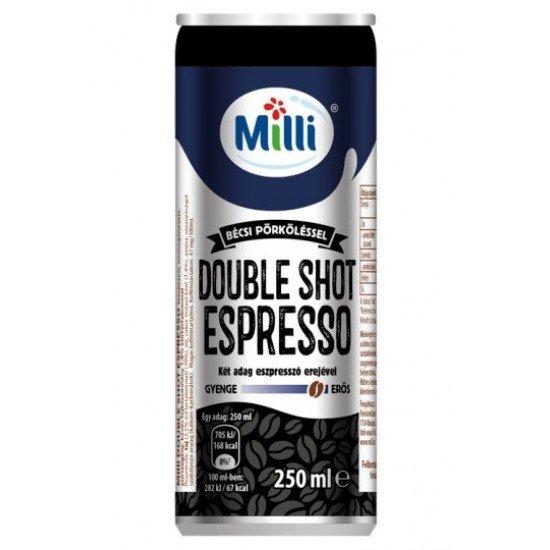 Milli Double Shot Espresso jegeskávé 250 ml