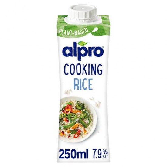 Alpro Cooking rizs főzőkrém 7,9% 250 ml