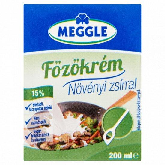 Meggle főzőkrém növényi zsírral 15% 200 ml