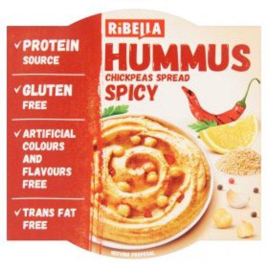 Ribella Hummus csicseriborsó krém pikáns 80 g